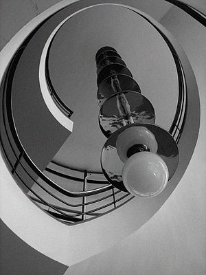De La Warr Pavilion - Shapes tend towards streamlined, industrially-influenced designs
