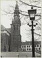 De gerestaureerde toren van de Nieuwe Kerk, ziende naar het zuiden. NL-HlmNHA 54011446.JPG