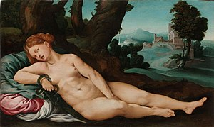 Jan van Scorel - The dying Cleopatra (c.1522)