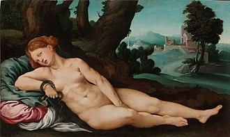 Jan van Scorel - The dying Cleopatra (c.1522)