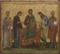 Deesis med den helige Nikolaus och ett okänt helgon - Nationalmuseum - 26595.tif