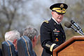 Defense.gov News Photo 110411-D-XH843-010 - Chief of Staff of the Army Gen. Martin E. Dempsey addresses the audience during an arrival and swearing-in ceremony at Fort Myer Va. on April 11.jpg