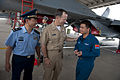 Defense.gov News Photo 110712-N-TT977-054 - Chairman of the Joint Chiefs of Staff Adm. Mike Mullen thanks a Chinese People s Liberation Army Air Force PLAAF airman after a tour of a Sukhoi.jpg