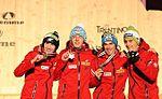 Dekoracja medalowa konkursu drużynowego (K-120) - Polacy (13).jpg