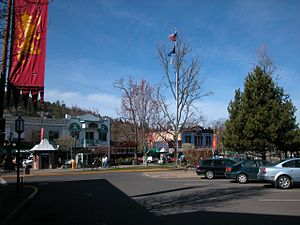 Ashland, Oregon - The Plaza