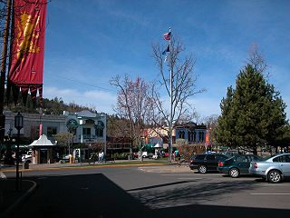 Ashland, Oregon City in Oregon, United States