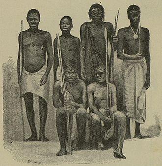 Sukuma people - Wasukuma (circa 1890)