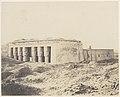 Dendérah (Tentyris), Temple d'Athôr - Vue Générale MET DP71374.jpg