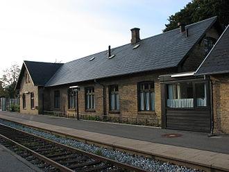 Årslev - Årslev railroad station