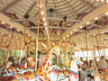 Dentzel Carousel at SF Zoo interior 8.JPG