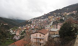 The village of Desulo