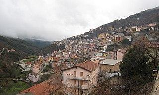 Desulo Comune in Sardinia, Italy