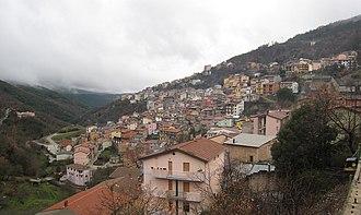 Desulo - The village of Desulo