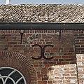 Detail zuidgevel, muuranker bij venster - Meedhuizen - 20372744 - RCE.jpg