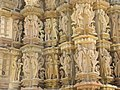 Devi Jagdambi Temple Khajuraho - Outer Wall 06.JPG