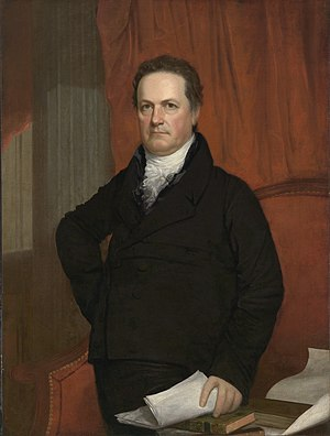 "History of Columbia University - DeWitt Clinton, one of the first students enrolled in ""Columbia College"""