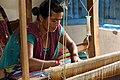 Dhaka Weaving Center, Nepal (10692229944).jpg