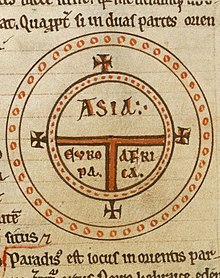 Flat earth wikipedia 12th century t and o map representing the inhabited world as described by isidore of seville in his etymologiae chapter 14 de terra et partibus publicscrutiny Choice Image