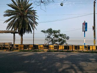 Hooghly River - Hooghly River near Diamond Harbour