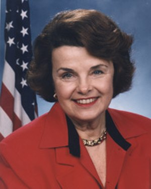 Dianne Feinstein - Official Senate photo from 2003