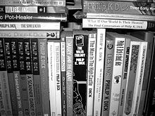Dick bookshelf b&w.jpg