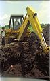 Digging Science City Site Office Foundation Pit - Dhapa - Calcutta 1994 369.JPG