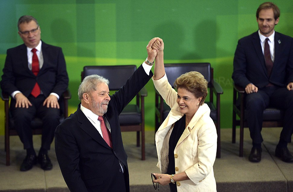 Dilma empossa Lula como Ministro Chefe da Casa Civil