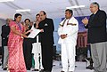 Dinesh Trivedi presented the 56th Railway Week National Awards for Outstanding Services-2011, at a function, in New Delhi. The Ministers of State for Railways.jpg