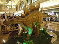 Dinosaur replica at Gran Via 2 shopping mall.JPG