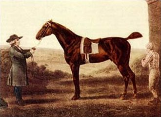 1780 Epsom Derby - Diomed by George Stubbs (1724-1806)