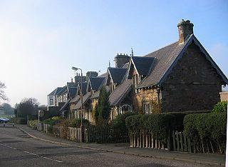 Dirleton Village in East Lothian, Scotland