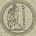Discours de la religion des anciens Romains - de la castrametation and discipline militaire d'iceux. Des bains and antiques exercitations grecques and romaines (1581) (14740580486).jpg