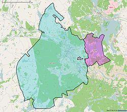 Karta Sverige Borlange.Borlange Kommun Wikipedia