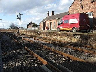 Bedlington railway station - Image: Disused Railway Station geograph.org.uk 145204