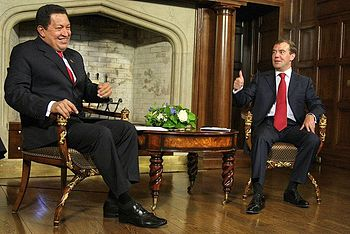 Dmitry Medvedev and Hugo Chavez 10 September 2009-5