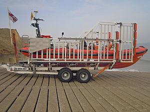 Talus Atlantic 85 DO-DO launch carriage - Image: Do Do Launch Carriagre (1)
