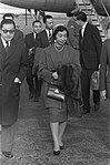 Dochter van de Keizer van Japan , Shigeko Higashikuni op Schiphol, Bestanddeelnr 910-7441.jpg