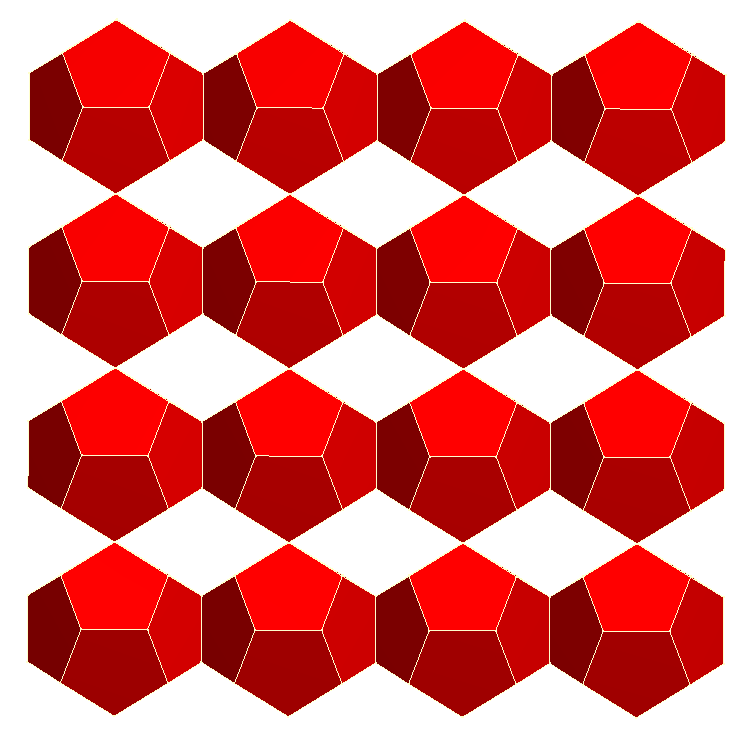 Dodecahedron lattice