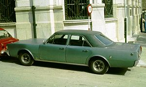 Automotive industry in Spain - Barreiros-Dodge 3700 made in Spain