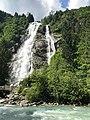 Dolomity část Adamello - Vodopád.jpg