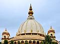 Dome of Samadhi Mandir of Srila Prabhupada, Mayapur 07102013.jpg
