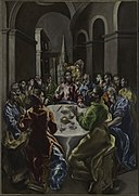 Domenico Theotokópoulos, called El Greco - The Feast in the House of Simon - 1949.397 - Art Institute of Chicago.jpg