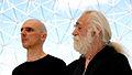 Dominik Pagacz (Mephistopheles) and George Molnar (Faustus) in 'Faustus; incident 375'. Segment 3. Montreal, 2013.jpg