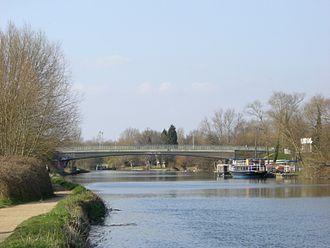 Donnington Bridge - Donnington Bridge, seen from the south.