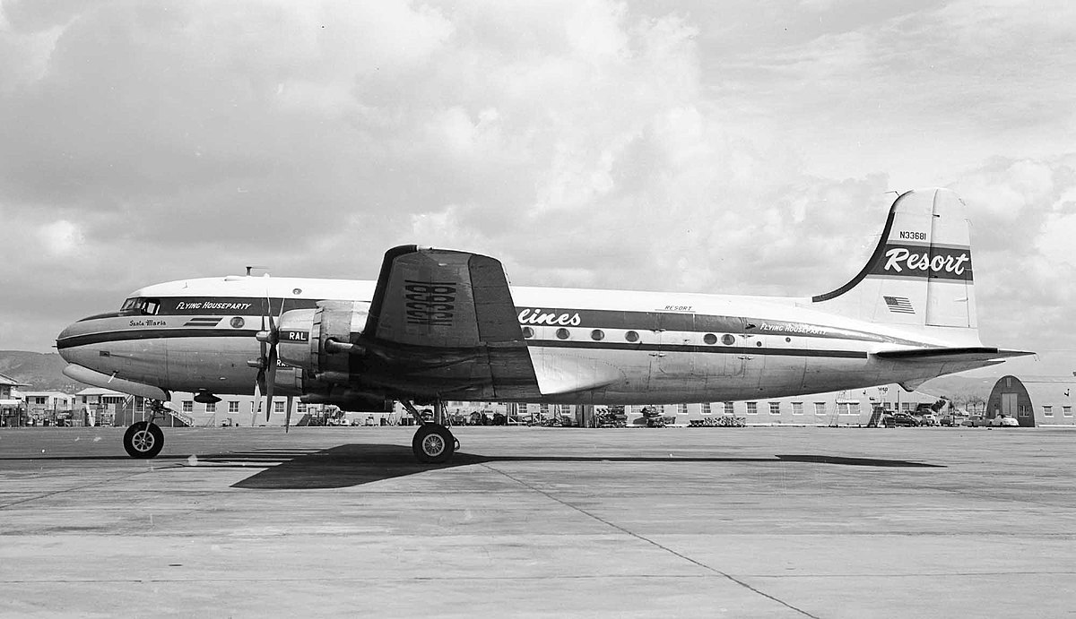 1951 Canadian Pacific Air Lines Dc 4 Disappearance Wikipedia