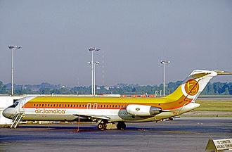 Air Jamaica - Douglas DC-9-32 of Air Jamaica at Chicago O'Hare International Airport in 1975