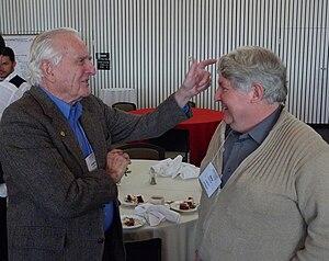 René Sommer - Rene Sommer (right) with Douglas Engelbart (left).