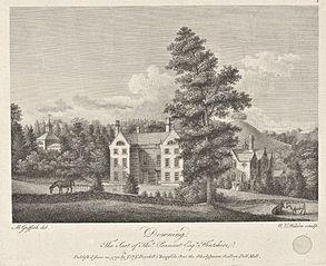 Downing. The Seat of Thos. Pennant Esqr., Flintshire
