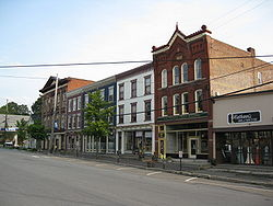 Downtown Montrose, Pennsylvania