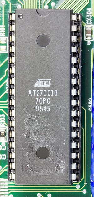 EPROM - Atmel AT27C010 - an OTP EPROM